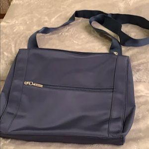 Maxx New York Navy Shoulder Bag